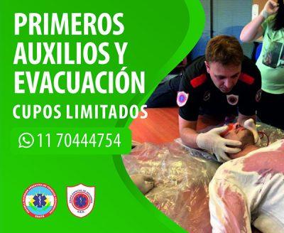 Curso de Primeros Auxilios y Evacuación